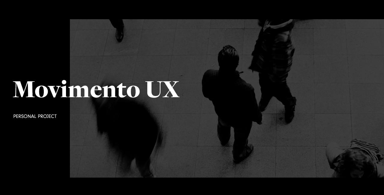 Movimento UX